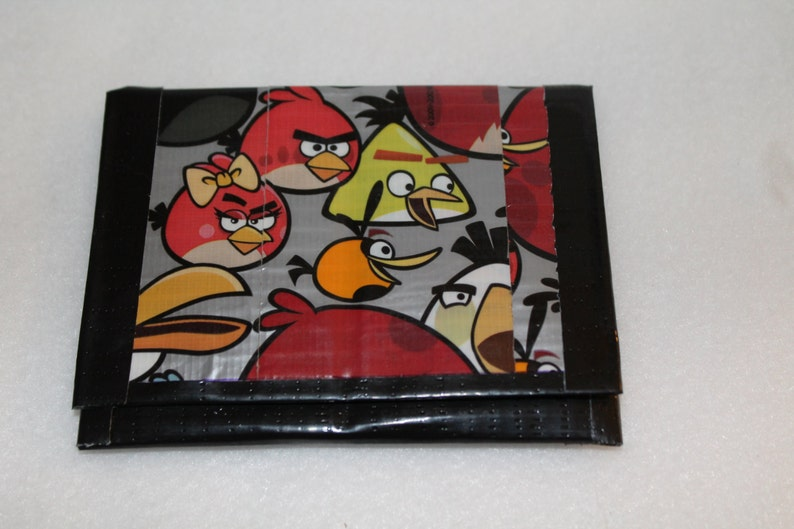 Angry Birds Duct Tape Wallet image 0