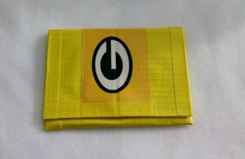 Packers Duct Tape Wallet image 0