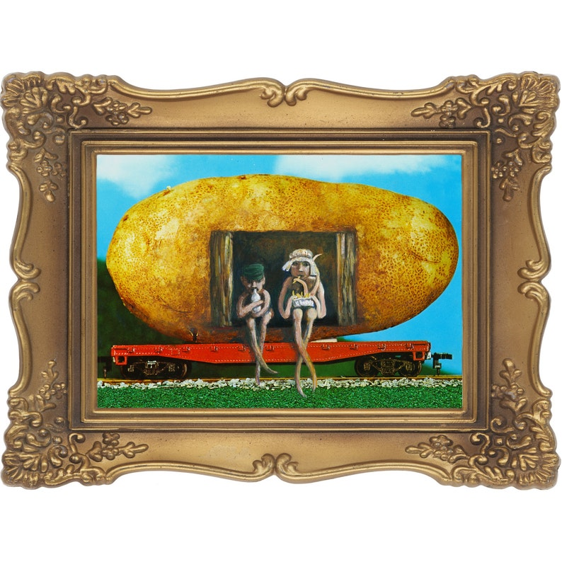 The Potato Train Signed and Numbered Giclee Print  Edition image 0