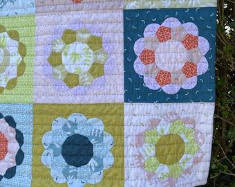 Mini Flower Power Quilt PDF Pattern