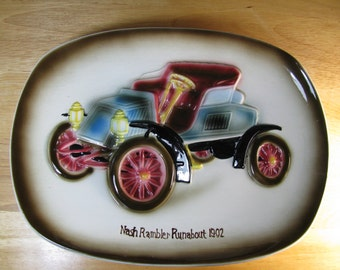 Nash Rambler Runabout Plate / Plaque - Great Fathers Day Gift