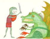 Where are my dragons? Original marker drawing by Matte Stephens.