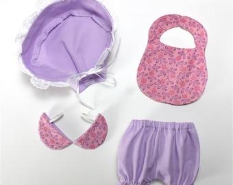 SALE Lovely Layette PDF Pattern Doll Clothing
