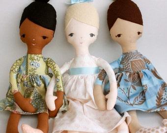 SALE Jane Doll PDF Doll Pattern
