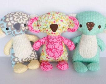 SALE Koby Koala PDF Doll Pattern