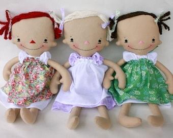 SALE Billie Anne PDF Doll Pattern