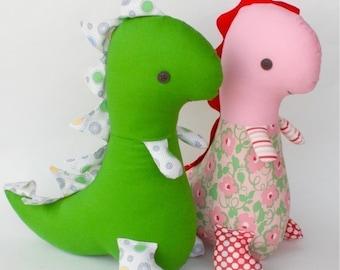 SALE Tommy T Rex PDF Dinosaur Doll Pattern