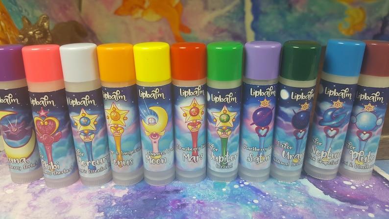 Senshi Set Sailor Scouts Lip Balms   All Nine Sailor Scouts  image 0