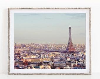 "Eiffel Tower in Spring, Paris Wall Art Print, Paris Print, Travel Photography Print, Paris Skyline, Wall Decor ""Overture"""