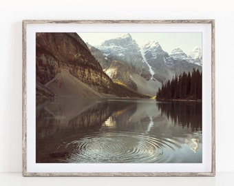 Mountain Print, Landscape Photography, Rustic Decor, Nature Photography Print, Gift for Men, Landscape Print, Rocky Mountains
