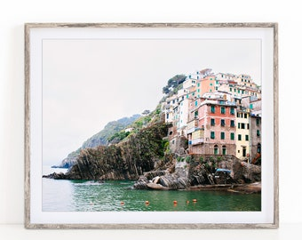 Italy Wall Art, Cinque Terre Colorful Houses Photo, Italy Print, Travel Photography Print, Wall Decor