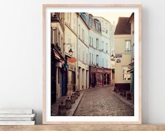 Montmartre Print, Paris, Photography Print, Paris Wall Art, Large Wall Art Print, 11x14, Vertical Wall Decor, Fine Art Photography
