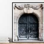 Weathered Door Print, Paris Art, Paris Wall Art, Neutral Wall Art, Paris Photography Print, Le Marais, France Travel Photography