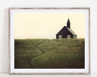 Fine Art Photography, Iceland Landscape Photography Print, Iceland Wall Art, Rustic Wall Decor, Landscape Print, Farmhouse Decor