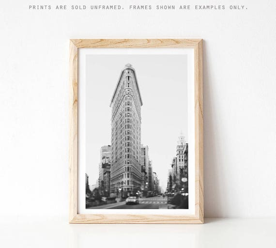 Flatiron Building New York Print New York City Photography   Etsy
