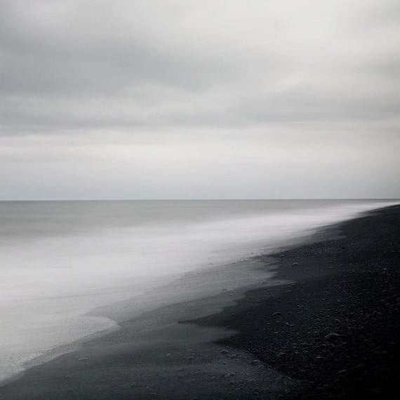 Minimalist Art Print Iceland Landscape Photography Print