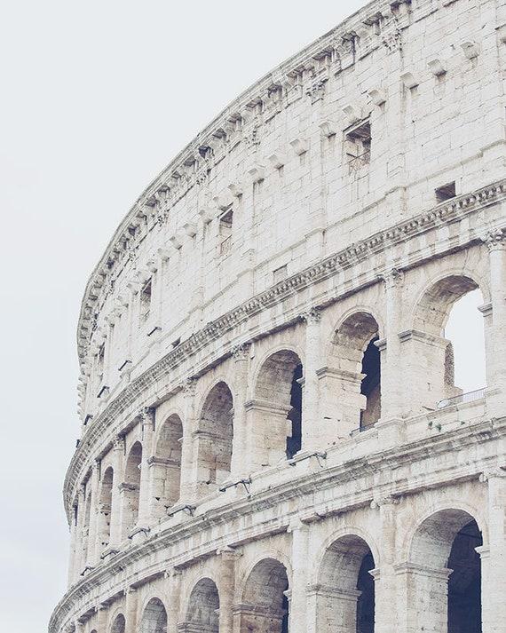 Roman Colosseum Rome Photography Print Rome Italy Wall Art | Etsy