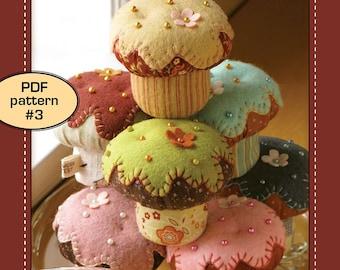 Cupcake Pincushion - PDF pattern 3