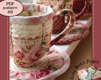 Quilted Teacup - PDF pattern 9