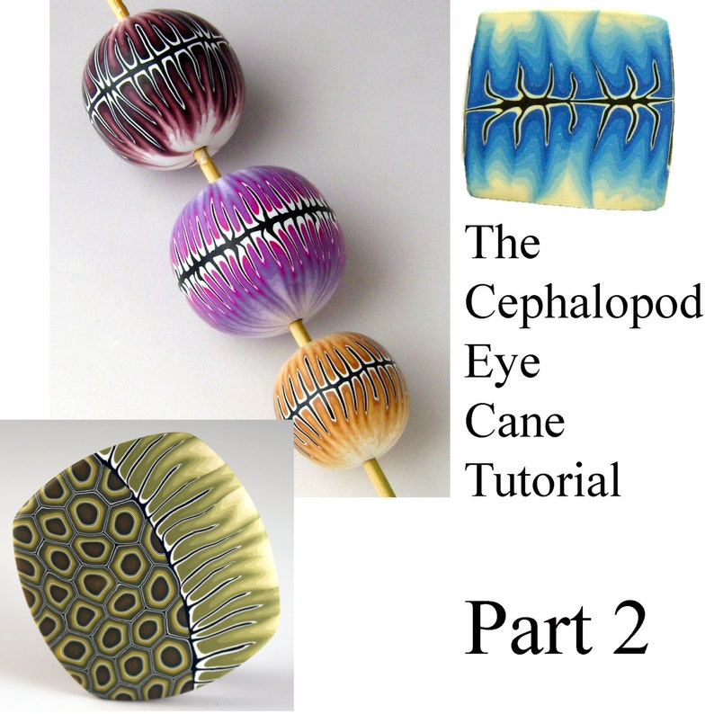 Tutorial  Make a Cephalopod Eye Cane part 2  NEW LOW PRICE image 0