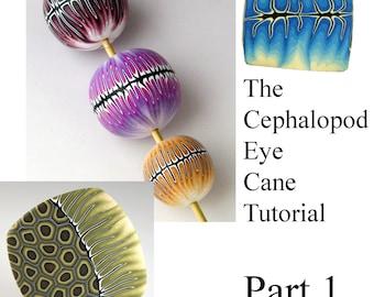 Tutorial - Make a Cephalopod Eye Cane PART 1