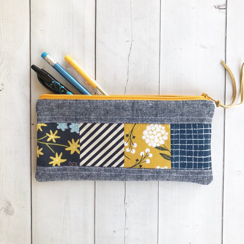 Pencil Zipper Case School Supplies Back to School