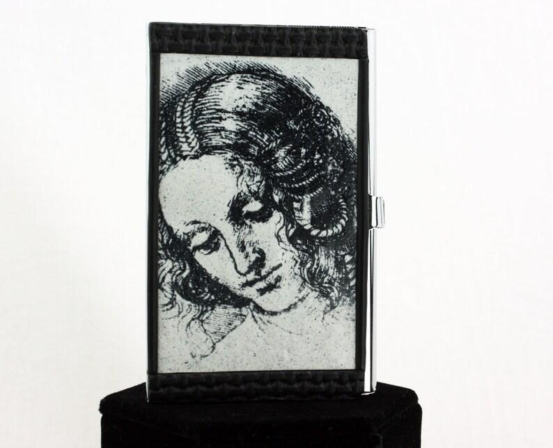 DaVinci Woman Business Card Case image 0