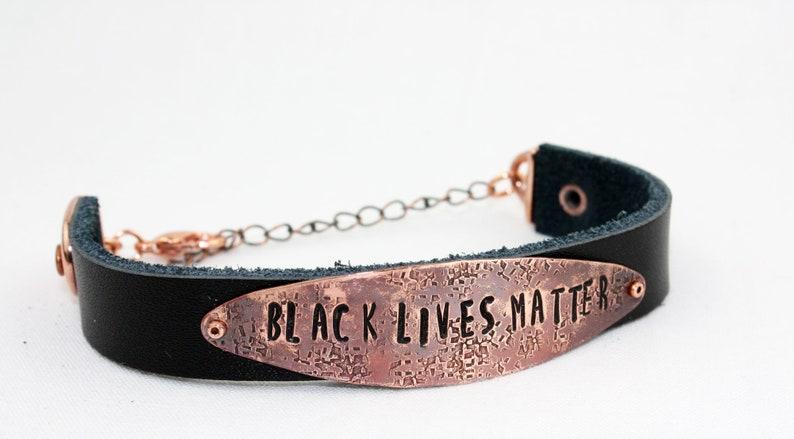 BLACK LIVES MATTER Bracelet  blacklivesmatter  Take Action image 0