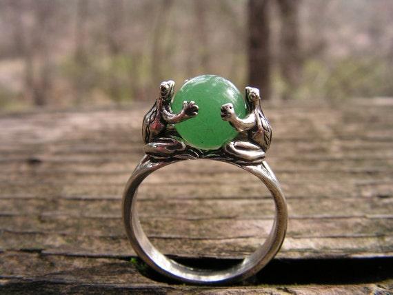 Adventurine Ring