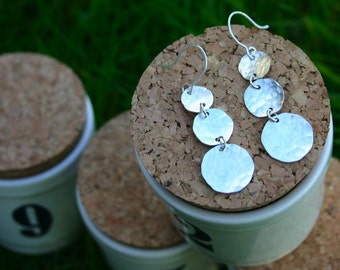 small chandelier earring.