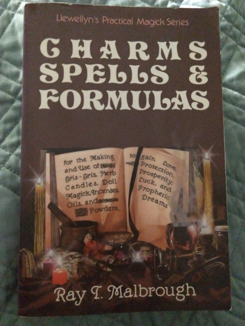 Charms Spells & Formulas by Ray J. Malbrough image 0