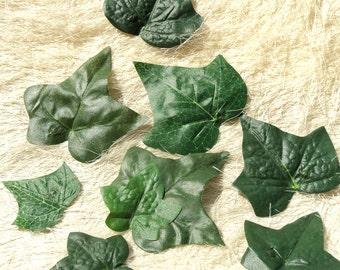 DIY KIT - Five Ivy Leaf Hair Snap Clips + Tutorial Instructions