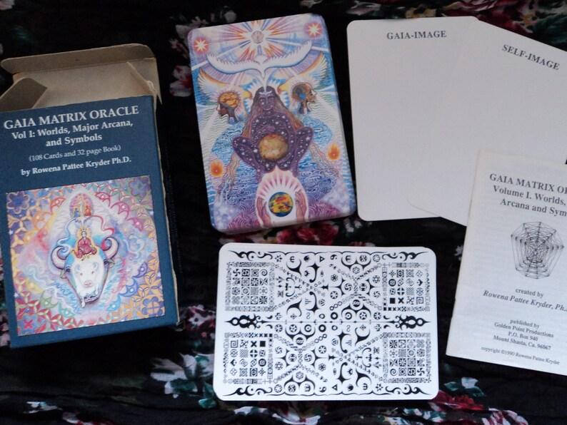 Gaia Matrix Oracle Vol I: Worlds Major Arcana and Symbols  image 0
