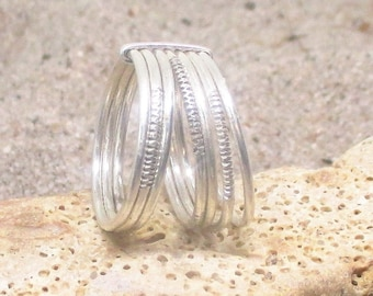 Sterling Silver Seven-Day Blessing Ring