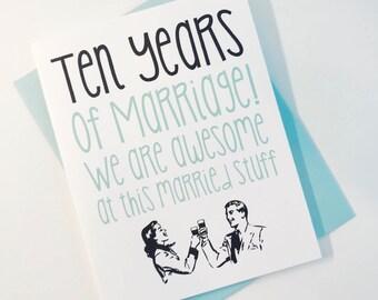 10th anniversary etsy