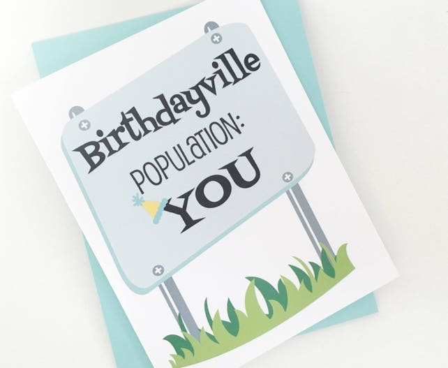 Happy Birthday Card Best Friends Retro Design For Him