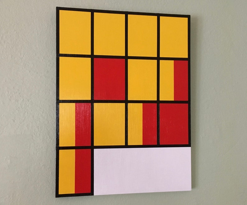 9x12 ORIGINAL abstract painting ready to hang  art image 0