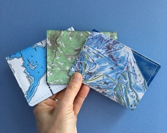 Vaccination Card Holder 4 x 3 | Vaccination Record Card Protector | Travel | Adventure | repurposed