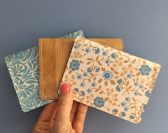 Vaccination Card Holder 4 x 3 | Vaccination Record Card Protector | Vintage