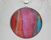 Color Remains Art Pendant...