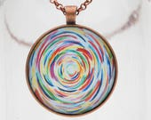 Dancing Color Art Pendant...
