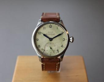 Chronai Big Air No 1 Vintage Watch - Pilot Watch - Men's Watch - Style Watch - Handmade Watch