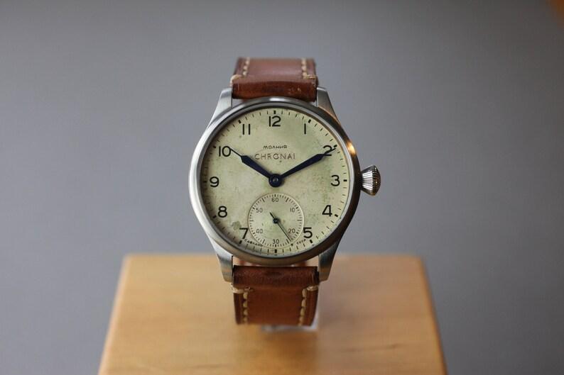 Chronai Big Air No 1 Vintage Watch  Pilot Watch  Men's image 0