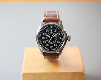 Big Pilot Watch 47mm - Waterproof Automatic Sports Watch - Handmade Watch