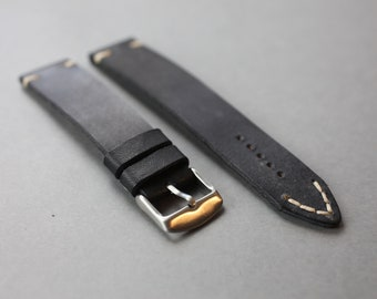 Style Leather Watch Strap - Vintage leather watch strap - Watch strap 18mm - Watch strap 20mm - Watch strap 22mm - Watch strap 24 mm