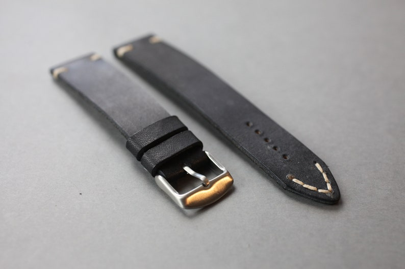 Style Leather Watch Strap  Vintage leather watch strap  image 0