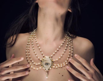 Gold Necklace - The Foam