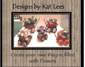 Create Your Own Wagon Filled With Flowers