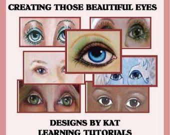 Creating Those Beautiful Eyes E-Pattern