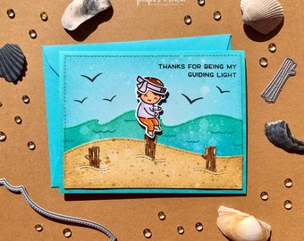 Karate Kid Thank you card